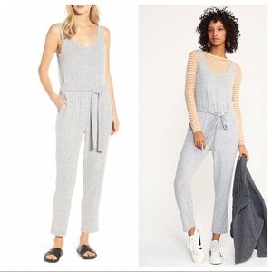 Lou & Grey Brushmarl Sleeveless Jumpsuit XS LQ241